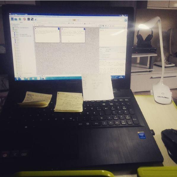 Laptop Arbeitsplatz