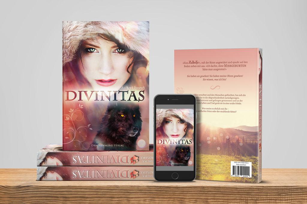 Divinitas-Bücher-Handy