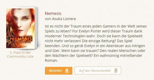 Auszeichnung Nemesis