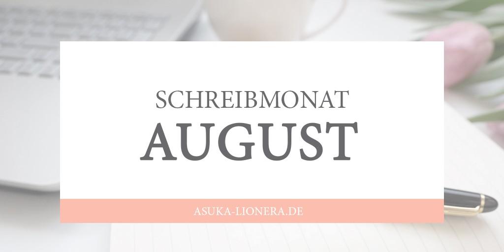 schreibmonat-august