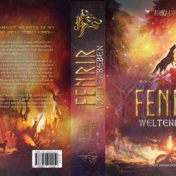 """Printcover """"Fenrir: Weltenbeben"""""""