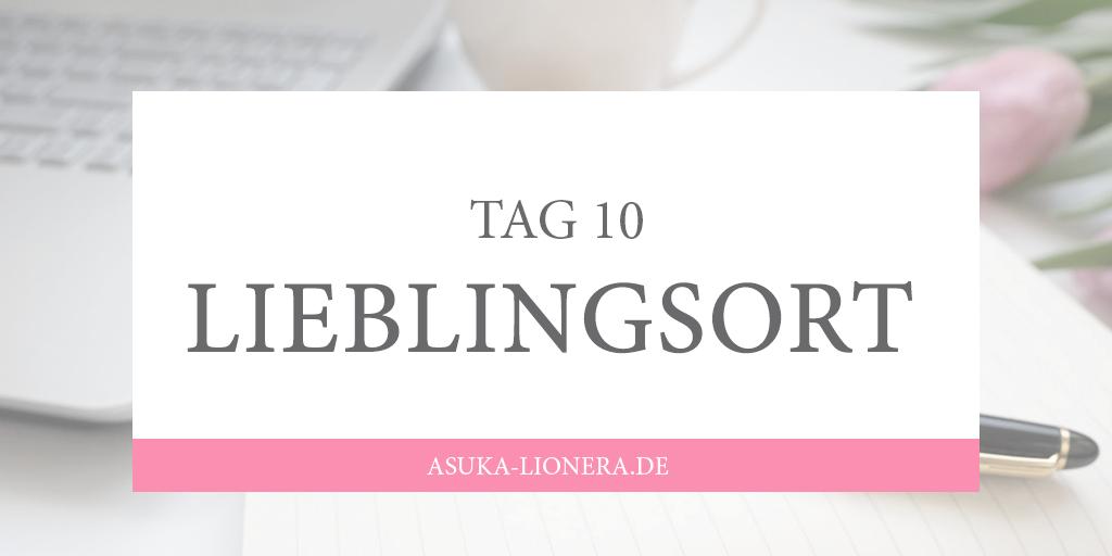 [CHALLENGE] TAG 10 – Mein Lieblingsort zum Schreiben