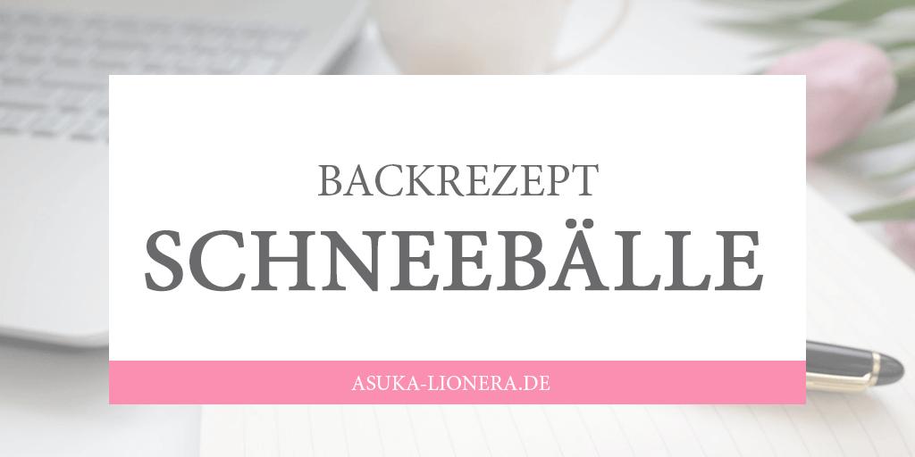 Backrezept Schneeball