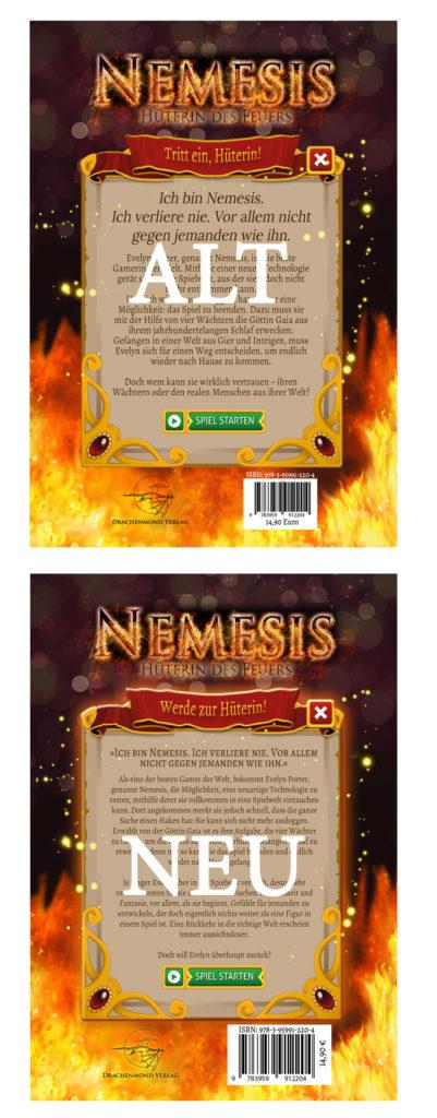 Vergleich Auflagen Nemesis