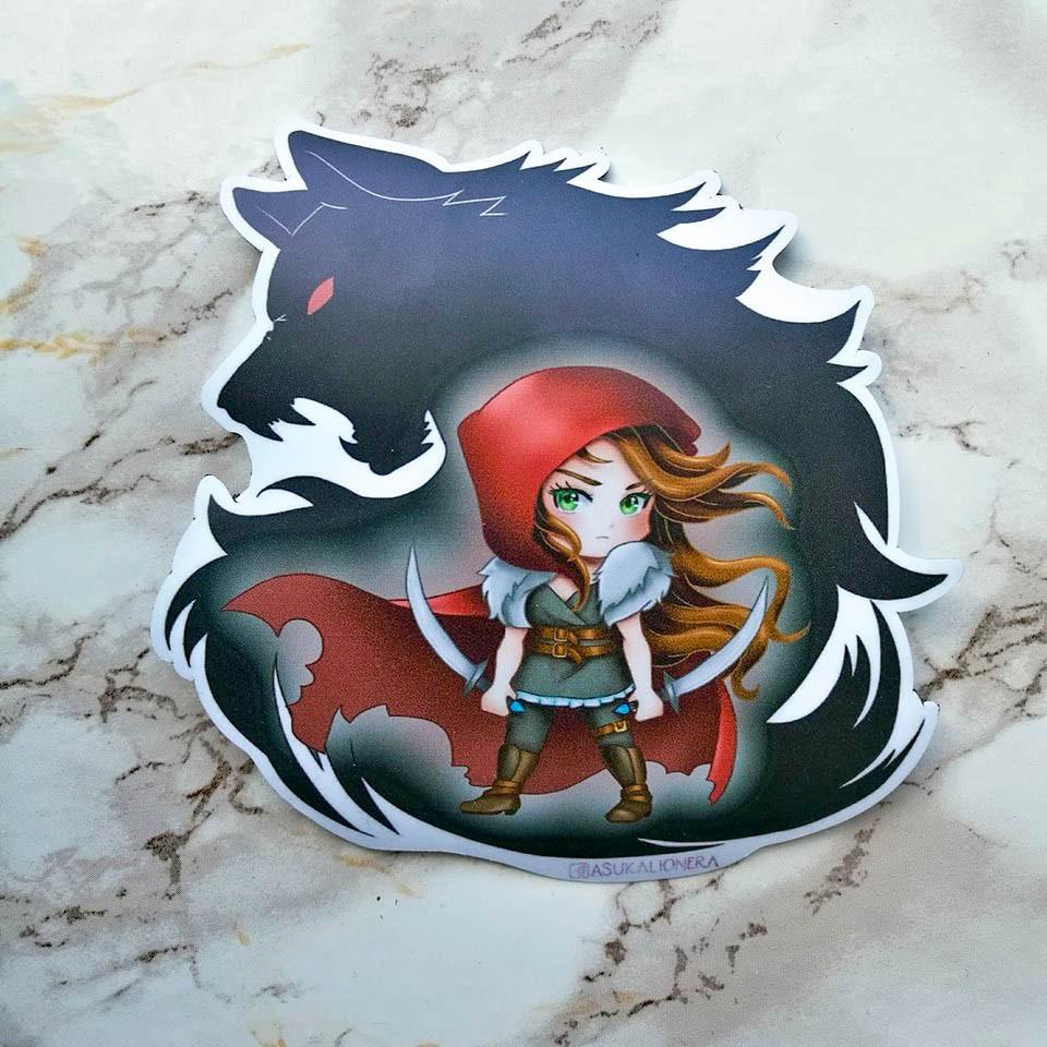 Magnet Scarlet