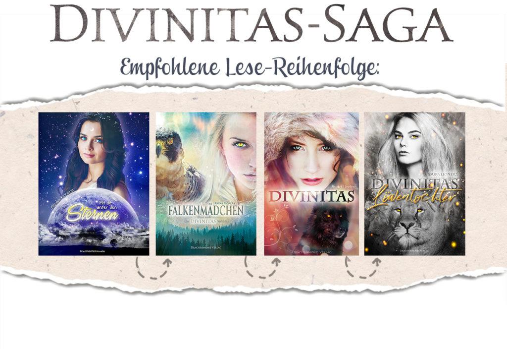 Lesereihenfolge Divinitas-Saga