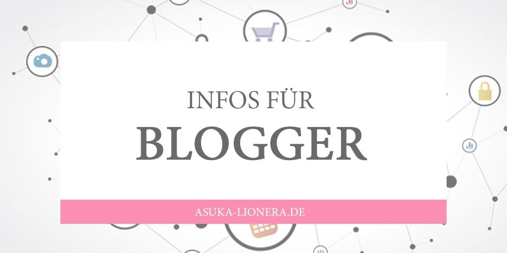 Infos für Blogger