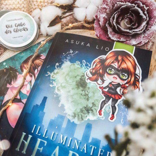 Magnetlesezeichen Illuminated Hearts Lady Luck